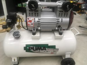 100v電源で使える最高峰のエアーコンプレッサーSK11 PUMA(藤原産業)SW231