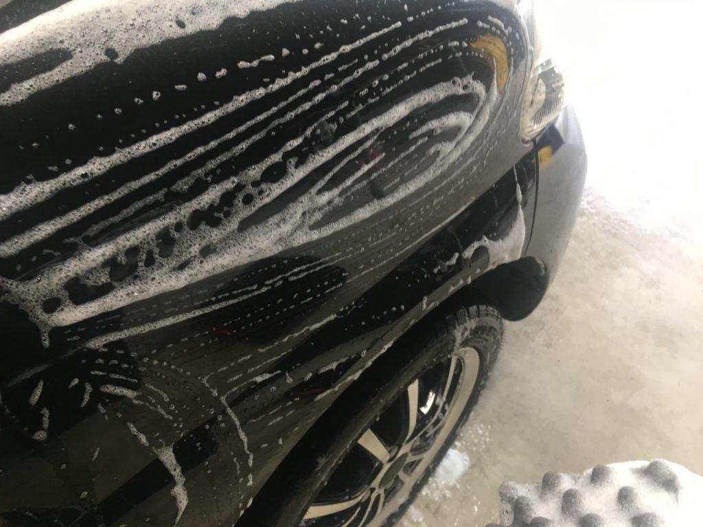 かしこいバケツを使った洗車