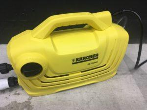 下回り、足回りの泥を落とす洗車におすすめ!高圧洗浄機ケルヒャー『K2クラシック』