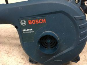 爆風爆音!100V最強ブロワーBOSCH(ボッシュ)『GBL800E』