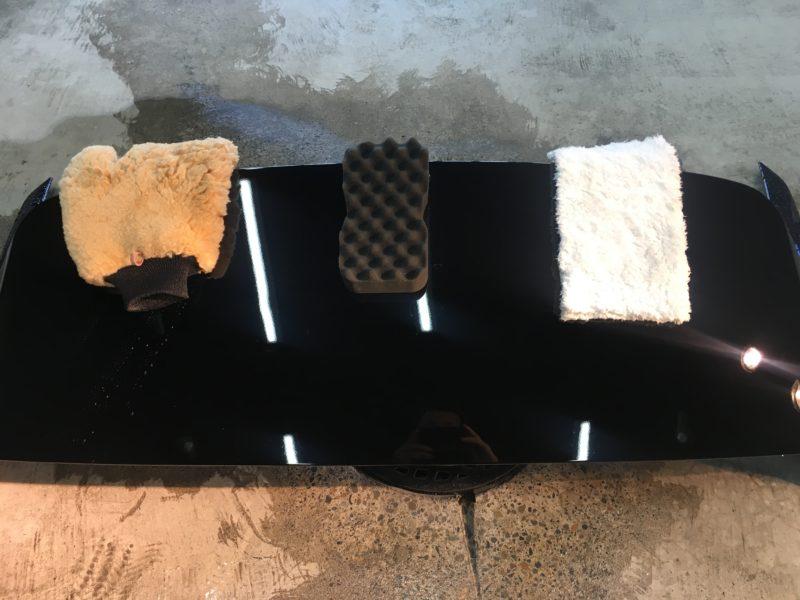 洗車傷実験