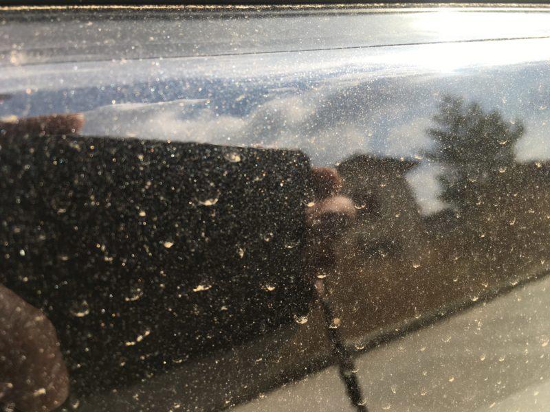 花粉汚れサイドパネル