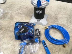 『コストコの激安洗車用純水器』UNGERをレビュー 水漏れ対策や色々な水と比較しました