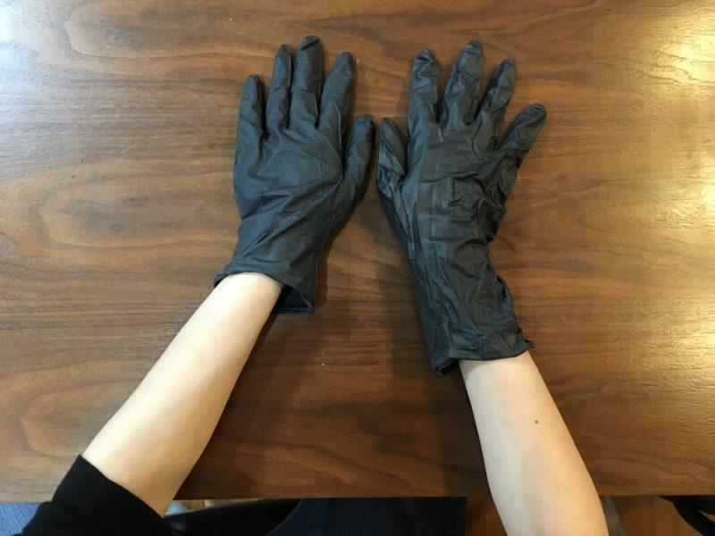 手首の長さ比較