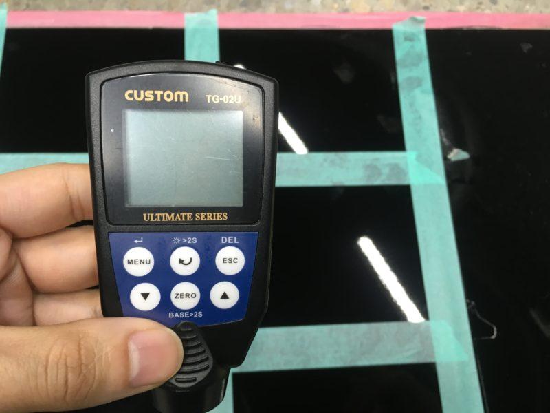 膜厚計で測定